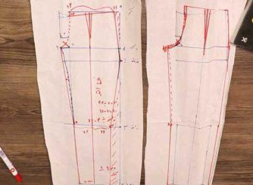 طراحی الگو و دوخت شلوار